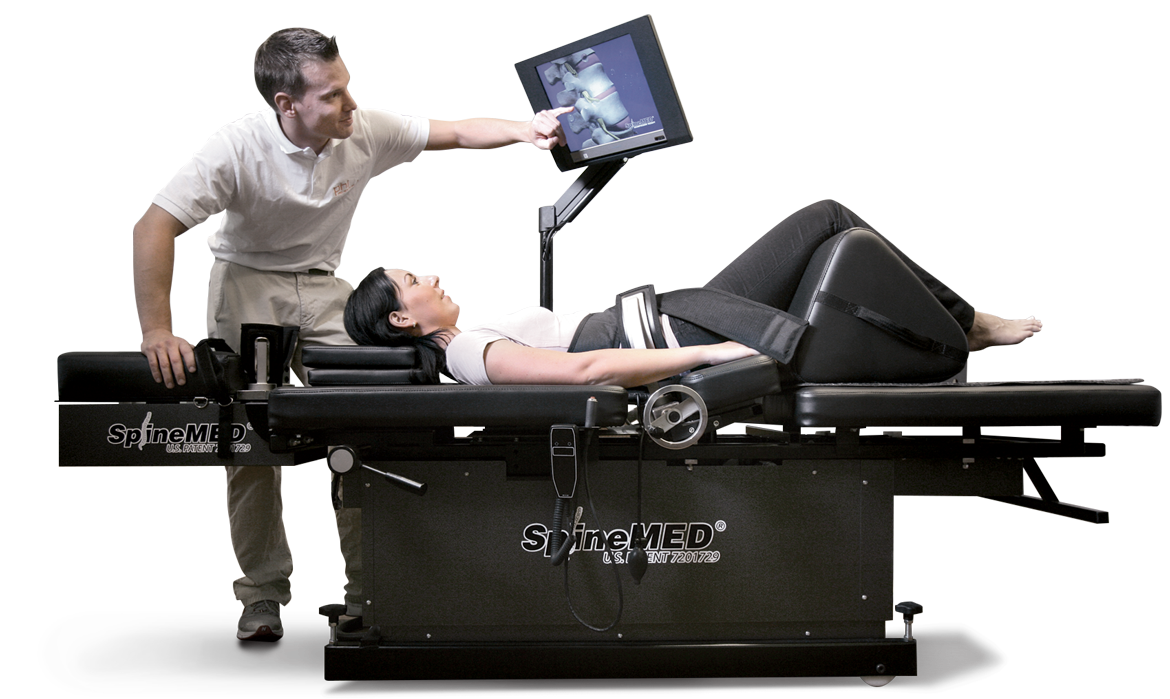 Funktionsweise | Spinalstenose Therapie | Dekompression | SpineMED Therapie